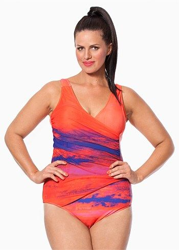Womens Swimwear. Whether you are making the most of the sunshine, or swimming laps to relax, you'll need the perfect swimsuit. EziBuy's collection of women's swimwear is full of options, from vibrant colours and prints, styles and cuts.