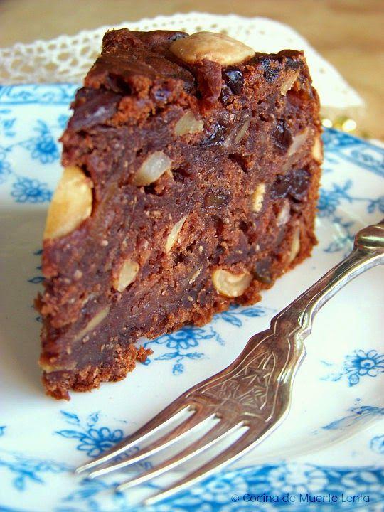 Torta Negra Vegana. Vegan Food