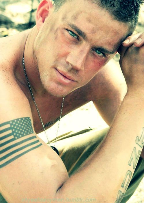 God. Bless. America. ChanningTatum