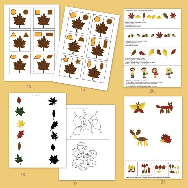 Őszi játékcsomagok – Ovis játék webshop