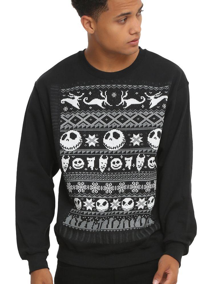 http://www.hottopic.com/product/the-nightmare-before-christmas-fair-isle-sweatshirt/10416141.html