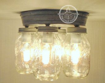 mason jar track lighting. rustic mason jar ceiling light fixture new quarts by lampgoods track lighting v