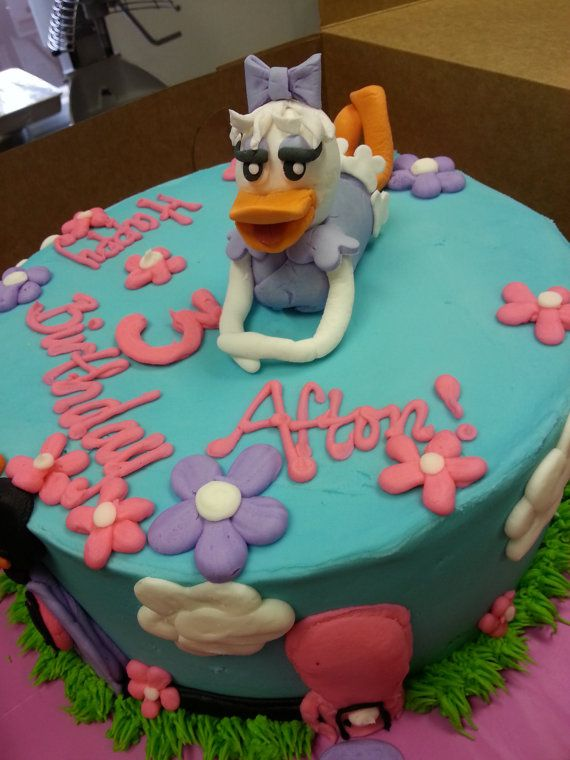 Daisy Duck Cake Topper  Gum Paste Figurine Customize it by FreshEx, $20.00