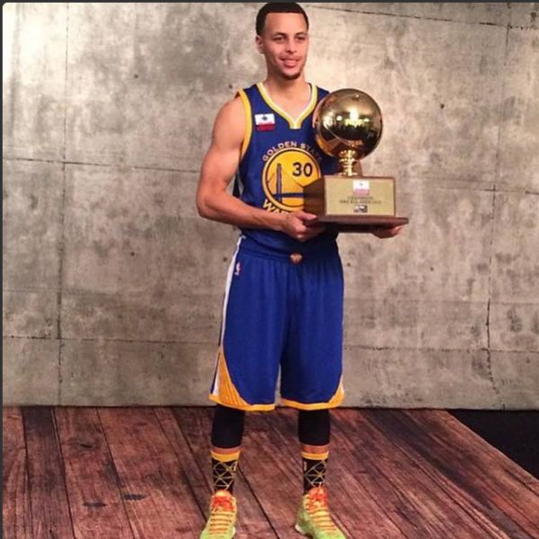 Stephen Curry won the 3-point contest at All-Star Weekend. Is the