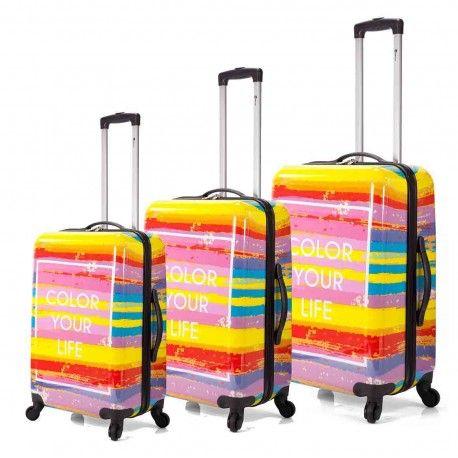 Nuevas Maletas Color Your Life, estos días con un 30% de Descuento en la Tienda de las Maletas en #avila y también online en www.cylcomplementos.com