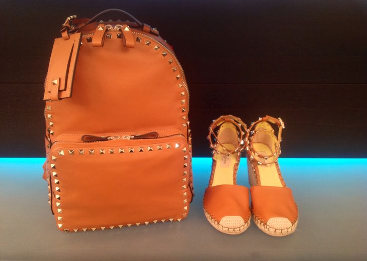 Backpack and shoes by Valentino at #ilduomonovara   www.ilduomonovara.it