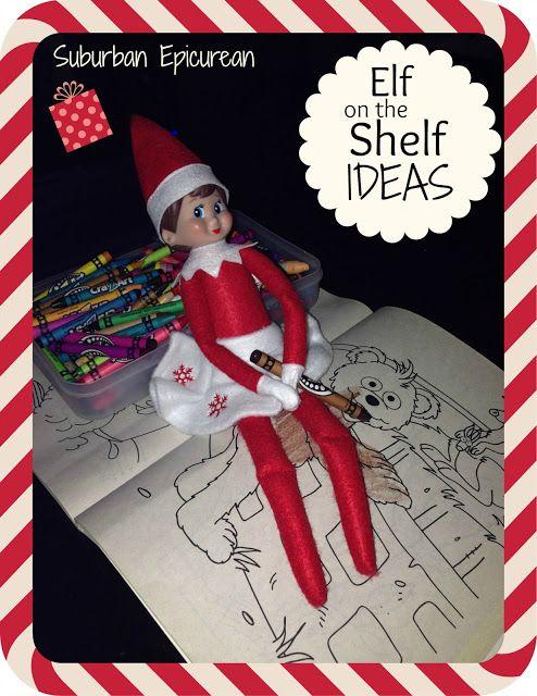 Elf on the Shelf ideas and wisdom #ElfOnTheShelf #Elf #christmas #children #kids #SuburbanEpicurean