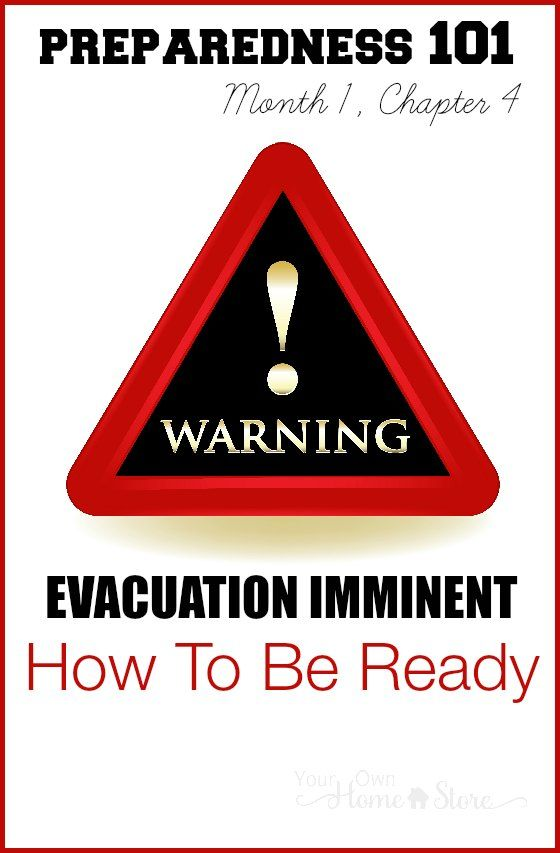 If you got a phone call today letting you know you had 10 minutes to evacuate your home with your family, what you would grab? Where you'd go? Learn how to be organized and ready for evacuation.