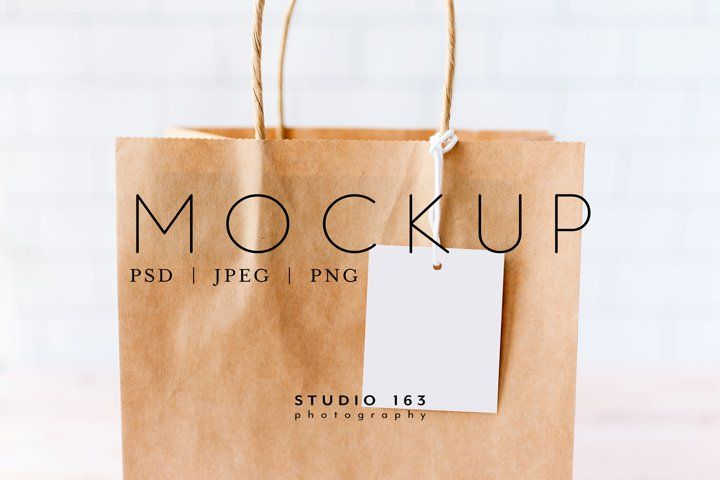 Download Tag Mockup Gift Tag Mockup Gift Bag Product Tag Psd 1047125 Products Design Bundles In 2020 Photography Mockup Template Design Business Card Logo