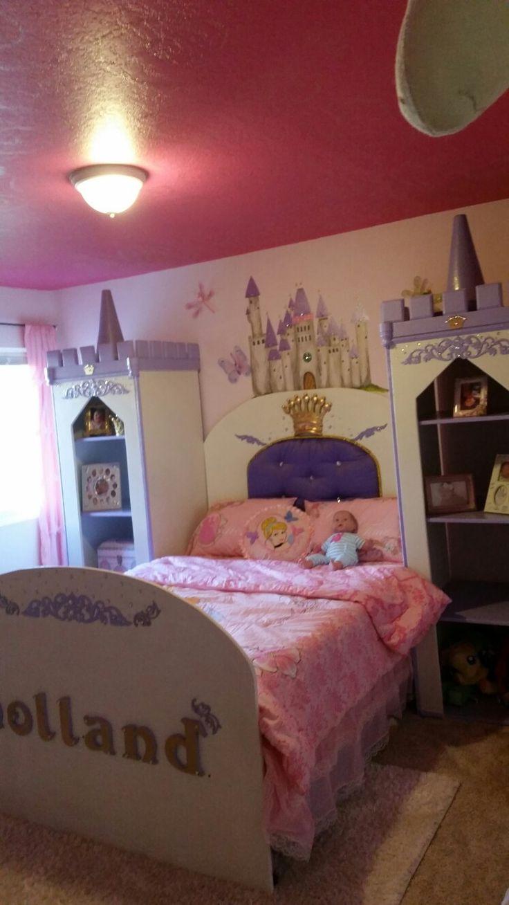Princess castle bedroom - Princess Castle Bed