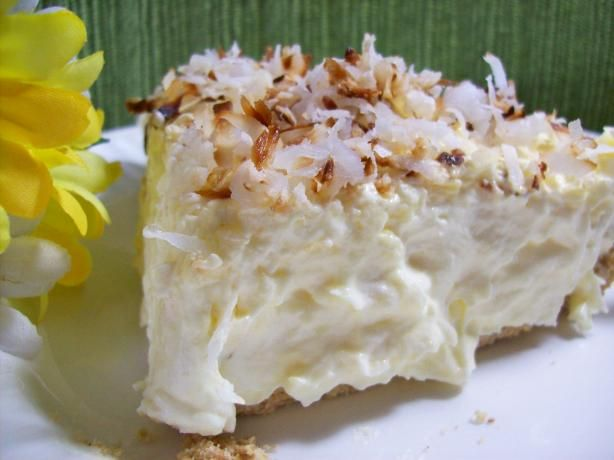 Really Easy and Good Coconut Cream Pie from Food.com: Just like the heading says......simple and easy and very yummy!