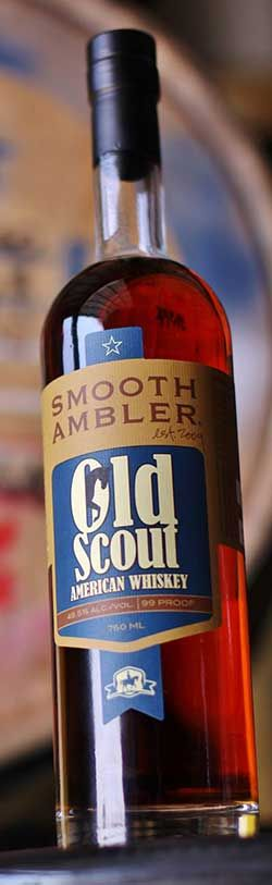 """Their latest release is an Old Scout American Whiskey, which is another blend- this time of an Indiana-distilled high-rye Old Scout bourbon and Tennessee-distilled whiskey aged 5 years in """"rejuvenated"""" barrels. My guess is the high-rye bourbon is the 7-year Old Scout (which is the higher rye mashbill versus their 10-year) from MGP. The 5-year is likely Dickel whiskey."""