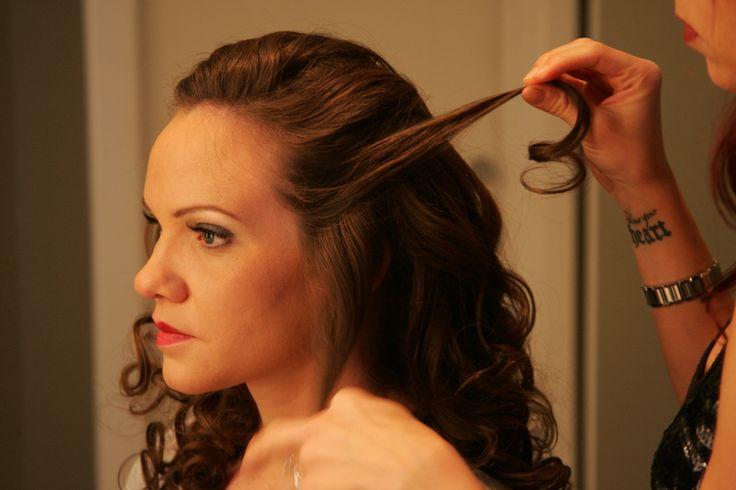 Berezny wedding hairstyles