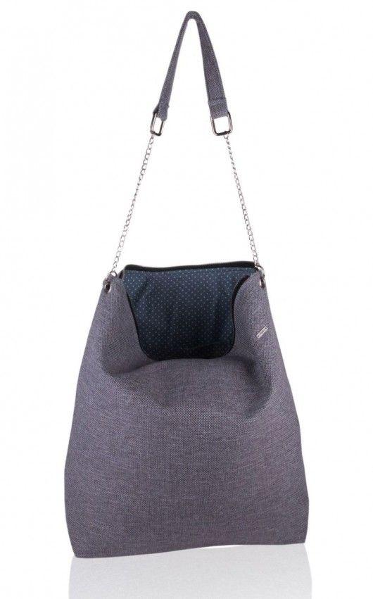 torby na ramię - damskie-torba gray