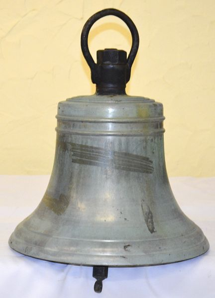 17.5inch 124lb all bronze ships bell $3,500