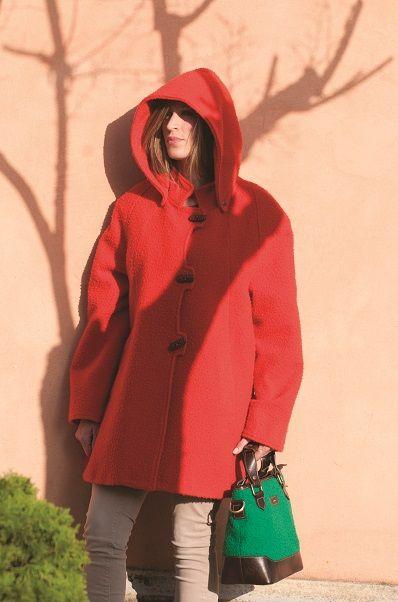 """Giaccone """"Lucrezia"""" in Panno Casentino_ ampia vestibilità  Jacket with wide fit"""