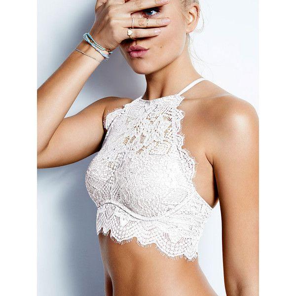 BRALETTES ❤ liked on Polyvore featuring intimates, bras, pink bras, victoria secret bra, victoria's secret and bralette bras