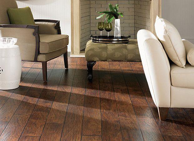 Handscraped Toasted Chestnut Laminate Flooring Great