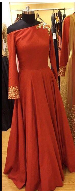 Nikhil thampi # Indian fusion gown # perfect for cocktail night # Indian fashion