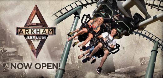 Arkham Asylum Launch - movie world 140cm