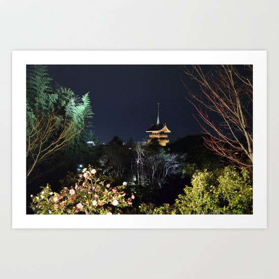 View from Kodai-ji Art Print by Claire Louise - $15.00