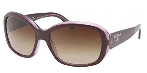 Prada PR31NS Sunglasses-IAY/6S1 Top Violet/Violet Transp (Brown Grad Lens)-58mm | $374,264.16