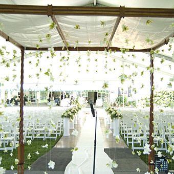 photos of decorated chuppah | matrimonios ofrecemos decoraciones al aire libre como tambien en ...