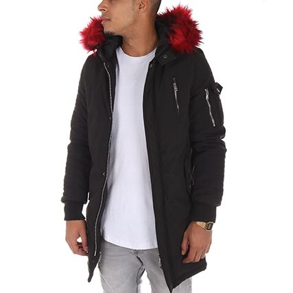 Project X - Parka 88165512 Noir Bordeaux - LaBoutiqueOfficielle.com