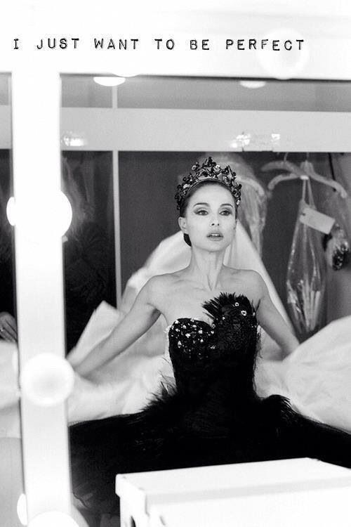 There's a lil bit of Black Swan in every woman, admit it or not.