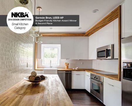 2014 NKBA Design Competition Winner- Small Kitchen 2nd Place