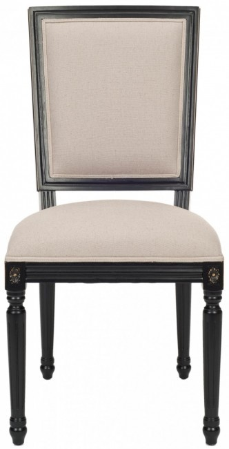 Safavieh Home Furnishings - Ashton Rect Side Chair - Black - Set Of 2, $495.00 (http://www.safaviehhome.com/casual-dining-chairs-ashton-rect-side-chair-black-set-of-2/mcr4516b-set2)