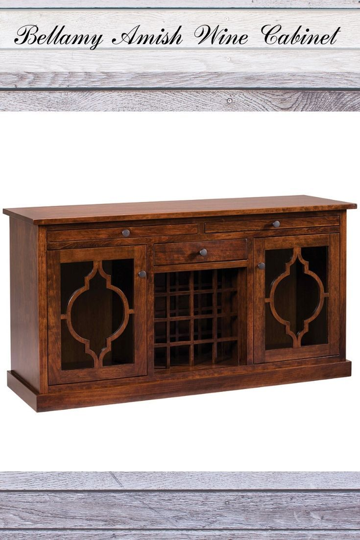 Wooden Amish Wine Cabinet For Your Dining Room Winecabinet Cabinet Diningroom Wine Cabinets Wine Cabinet Diy Trestle Dining Tables