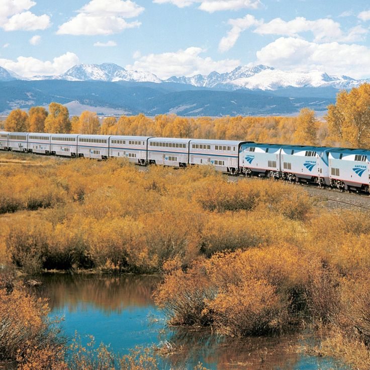 Best Train Trips in the U.S. | The Most Scenic Rides on These Amtrak Tours