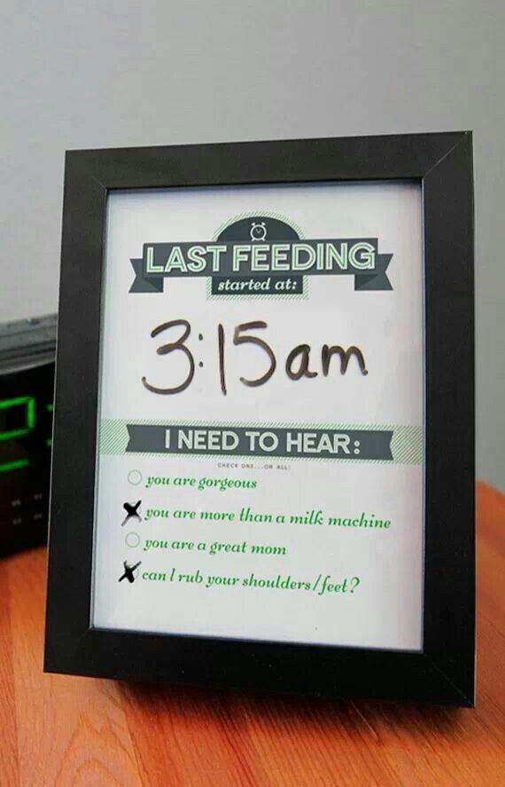 Great idea to help mom with breastfeeding.