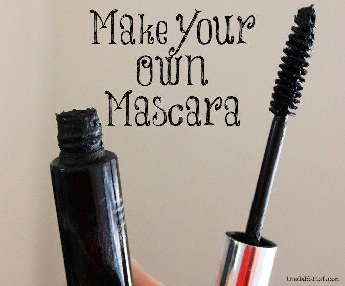 Make Your Own Mascara