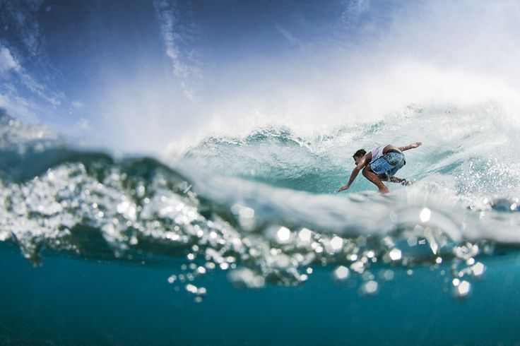 Water and waves, boards and fun!