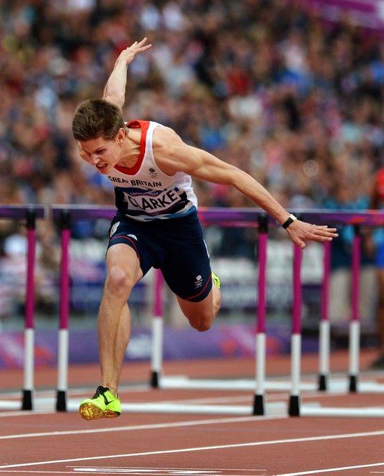 Lawrence Clarke (BA 2011), Men's 110m hurdles, London 2012 Olympic Games.