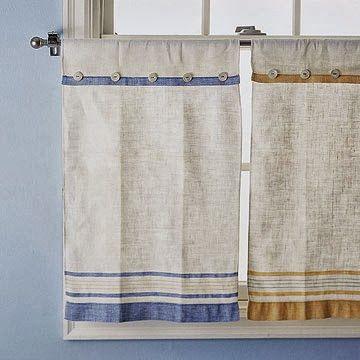 cortina de pano de prato para cozinha