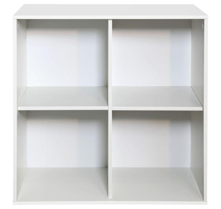 Malmö 2x2 Deep Bookcase — Matalan Direct