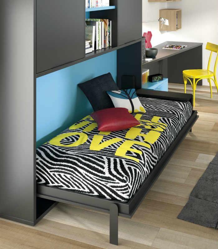 28 mejores im genes sobre camas para dormitorios con poco - Dormitorios con poco espacio ...