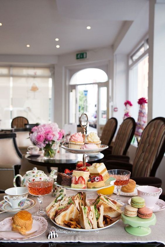 Afternoon Tea at BB Bakery Covent Garden