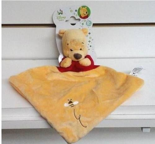 Mickey / Pooh Disney Manta De Apego Original - Alparamis - $ 190,00