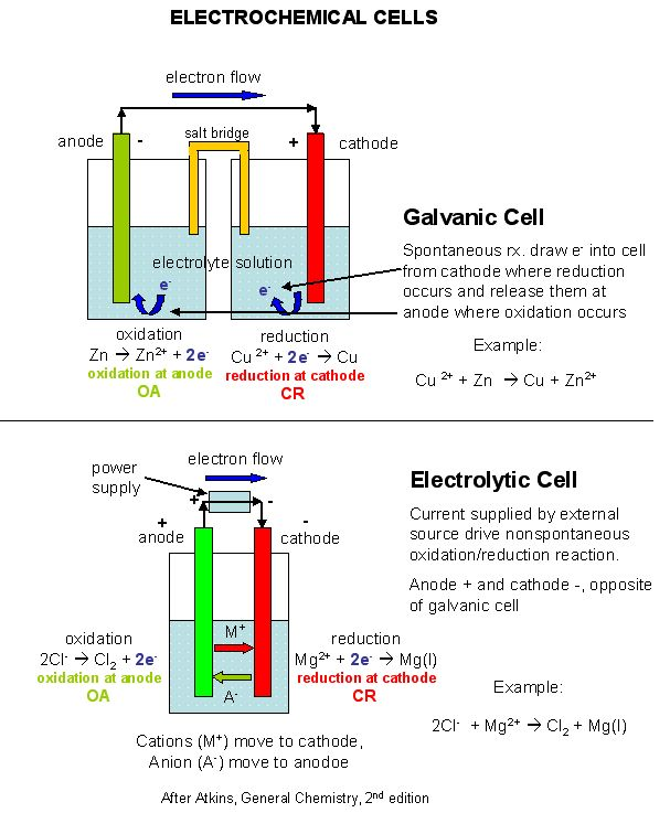 Best 25  Galvanic cell ideas on Pinterest | Redox reactions ...