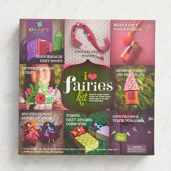 Bring the magical world of fairies into your home with these 8 cute crafts! Kids will love making everything from the tiny fairy doors, to fairy beds, to a welcoming garland, to the pretty fairies the