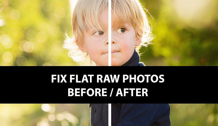 Example preset to boots RAW images on import - starting point for your own edits