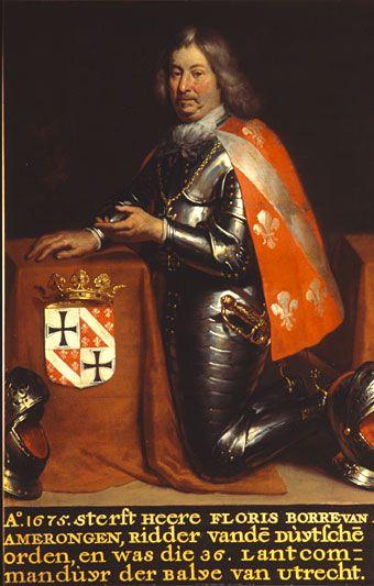 Floris Borre van Amerongen, broer van Coenraad Borre van Amerongen