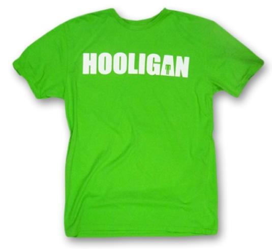 Hooligan Institucional Verde #HooliganTheBrand