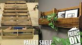 How to make a pallet book shelf pallet projects with DIY with Chris Alaska Edition - YouTube