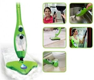 H2o mop x5 steamer easy cleaning 5 in 1 steam mop thane products