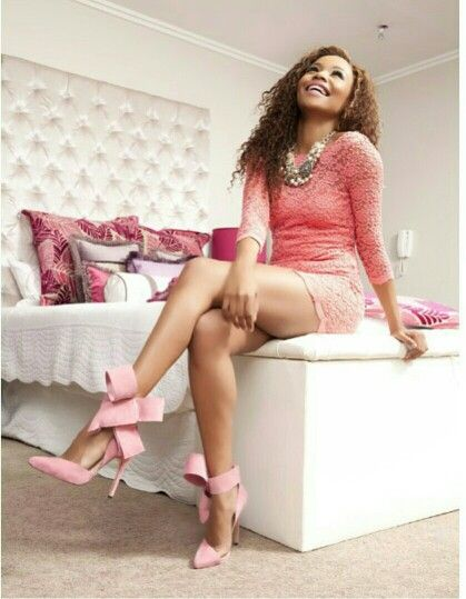 Bonang's girly home